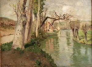 Frits Thaulow - Image: Frits Thaulow Fra Dieppe med elven Arques