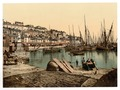 From the Harbor, Brixham, England-LCCN2002696425.tif
