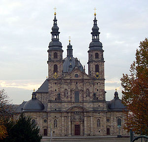Fulda a stronghold of Catholicism in Germany