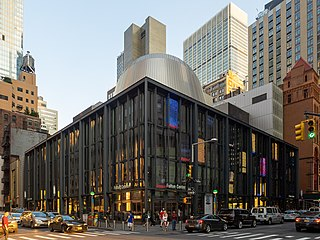 Fulton Center Transit center and mall in Manhattan, New York