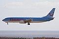 G-CDZL B737-804 Thomsonfly LPA 20JAN10 (4379574425).jpg