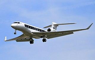 executive transport aircraft