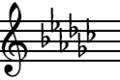 G-flat Major key signature.png