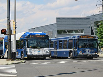 Greater Bridgeport Transit Authority - Image: GBT 4303 4708