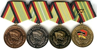 Medal for Faithful Service in the National Peoples Army