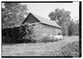 GENERAL VIEW FROM SOUTHWEST - Sunny Banks, Barn No. 1, Near Route 640, Trevilians, Louisa County, VA HABS VA,55-TREV.V,13A-1.tif