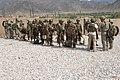 GIs, ANA and ABP at Forward Operating Base Fortress, Kunar.jpg