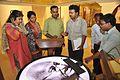 GMM and CMD Officers Checking Exhibit - Gandhi Memorial Museum - Barrackpore - Kolkata 2017-03-31 1316.JPG