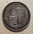 GREAT BRITAIN, VICTORIA 1887 -JUBILEE SIXPENCE a - Flickr - woody1778a.jpg