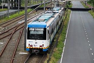 Amstelveen - Metro in Amstelveen