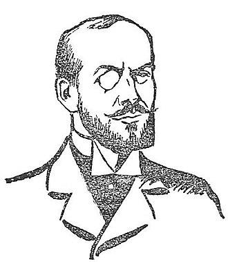 Gabriel Syveton - Syveton from La Presse, 8 April 1903
