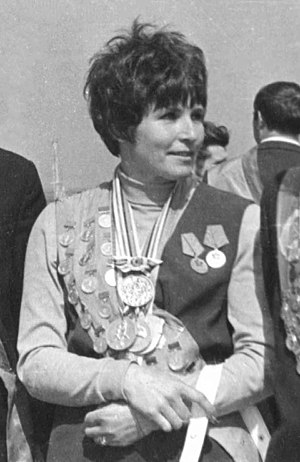 Galina Bystrova - Bystrova in 1973