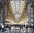 Galleria Vittorio Emanuele II (Frontpage) - Flickr - Bert Kaufmann.jpg