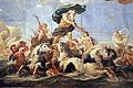 Galleria di luca giordano, 1682-85, nettuno e anfitrite 04.JPG
