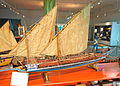 Galley model, c. 1748-1749 - Marinmuseum, Karlskrona, Sweden - DSC08801.JPG