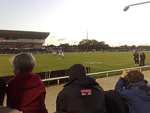 Connacht Rugby - Connacht against Leinster in their 2008–09 Celtic League game at the Sportsground