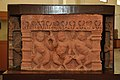 Gandharva in Dancing Pose - Mediaeval Period - Magorra - ACCN 76-7 - Government Museum - Mathura 2013-02-23 5449.JPG