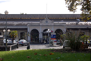 Gare de Pau - Exterior of the Gare de Pau