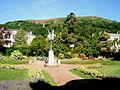 Gardens in front of Great Malvern Library - geograph.org.uk - 479444.jpg