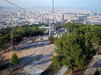 Montjuïc Cable Car - Image: Gardens of Joan Brossa 1