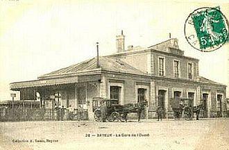 Gare de Bayeux - Gare de Bayeux, early 20th century.