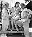 Gary Vinson Lisa Seagram Ernest Borgnine McHale's Navy 1964.JPG