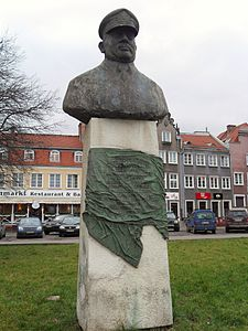 Gdańsk – pomnik Tadeusz Ziółkowski.JPG