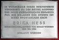 Gedenktafel Müllerstr 185 (Wedd) Erika Hess.jpg