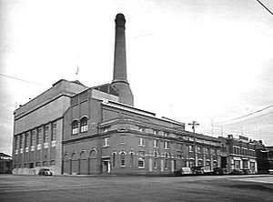Geelong Power Station - Geelong A power station in 1948