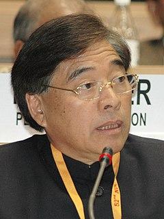 Gegong Apang Indian politician