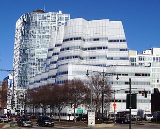 IAC Building - Image: Gehry IAC and Nouvel 100 11th Ave