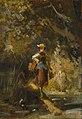 Gemälde - Mädchen mit Korb - Carl Spitzweg.jpg