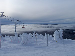 Big White Ski Resort - Image: Gem Lake Express