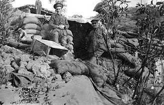 New Zealand Expeditionary Force - General Birdwood APEX Gallipoli in WW1 5 December 1915