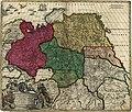 Generalis totius imperii Moscovitici - novissima tabula magnam orbis terrarum partem a Polo Arctico usq(ue) ad mare Iaponicum, et Chinae Septentrionalis confinia exhibens - cum via Czaricae nuper LOC 2003627044.jpg