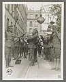 Genuine jazz for the yankee wounded In the courtyard of a Paris hospital for the American wounded, an American negro military band, led by Lt. James R. Europe, entertains the patients with LCCN2016651602.jpg