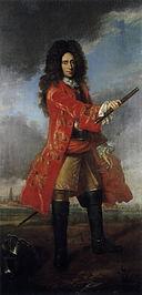 Georg Friedrich, count of Waldeck, painted by Johann Valentin Tischbein, ca 1750