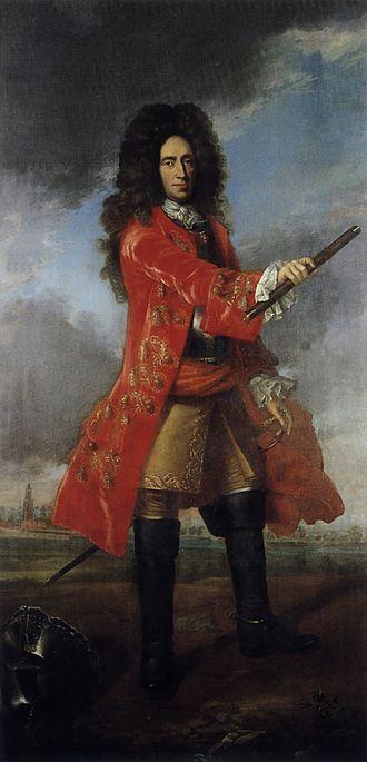Prince Georg Friedrich of Waldeck - Posthumous portrait ca 1750 by Tischbein