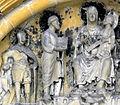 Georg Petrus Maria und Jesus an der Marienpforte des Bamberger Doms.jpg