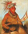 George Catlin - Pah-ta-cóo-chee, Shooting Cedar, a Brave - 1985.66.257 - Smithsonian American Art Museum.jpg