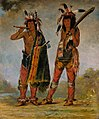 George Catlin - Two Young Men - 1985.66.235-236 - Smithsonian American Art Museum.jpg