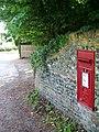 George VI postbox, Itchen Abbas - geograph.org.uk - 1328530.jpg