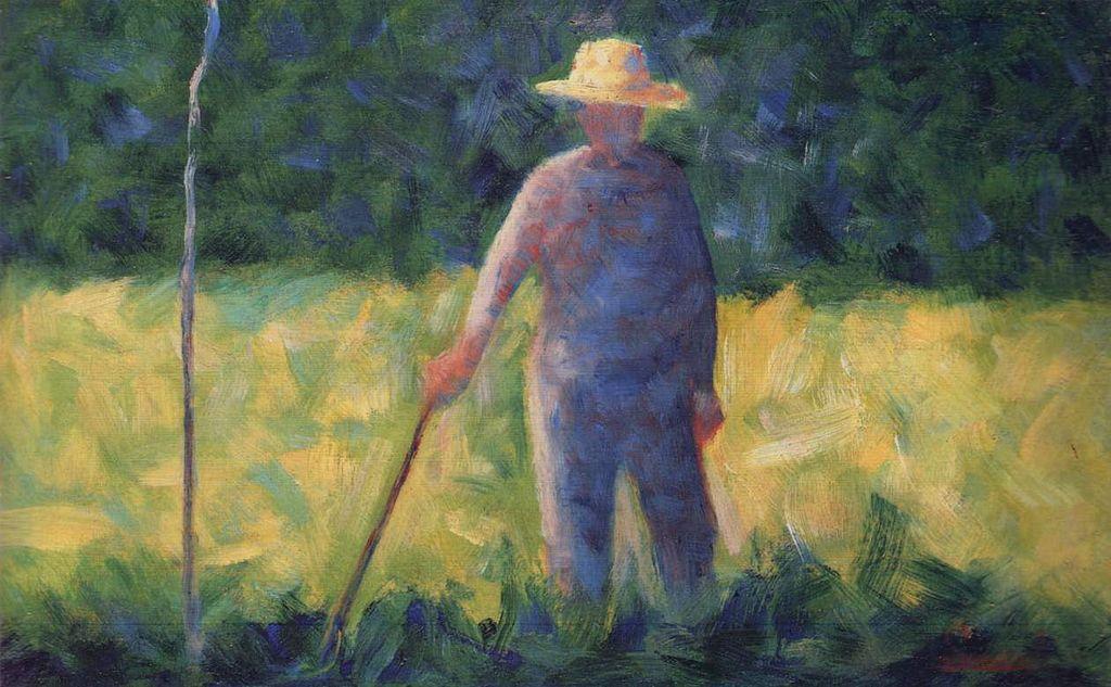 Georges Seurat - Le jardinier