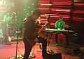 Georgian rock-band Vakis Parki performing at Hard Rock Cafe, Tbilisi. 27 October 2017 12.jpg