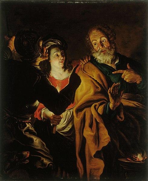 File:Gerard Seghers - Peter zataji Jezusa.jpg