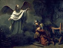 In This Painting By Gerbrand Van Den Eeckhout An Angel Appears To The Roman Centurion Cornelius Tells Him Seek Out St Peter