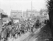 German prisoners captured during Battle of Vimy Ridge