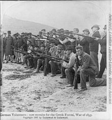 German volunteers; raw recruits for the Greek forces, War of 1897.jpg