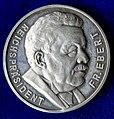 Germany, Death of Friedrich Ebert Silver Medal by Hummel 1925, obverse.jpg