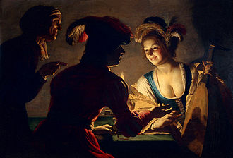 Matchmaking - Gerard van Honthorst, The Match-Maker (1625)